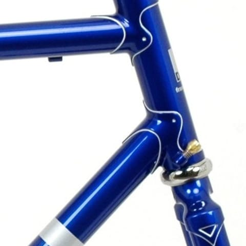 blue bike, head lugs
