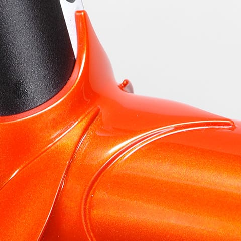 orange seat lug detail