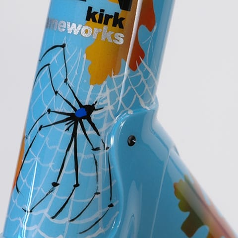 spider on head tube