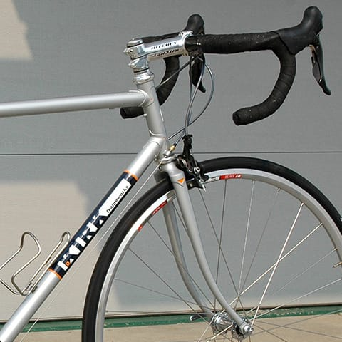 silver KIRK bicycle
